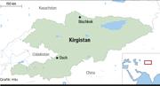 Eine Karte von Kirgistan. (Bild: mlu)