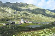 Das kürzlich renovierte Gotthard-Hospiz steht auf der Liste des europäischen Kulturerbes. (Bild: Stefanie Nopper / Luzernerzeitung.ch)