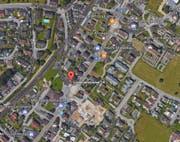 Der Unfall hat sich 2012 auf der Höhe der Luzernerstrasse 24 (rot markiert) ereignet.