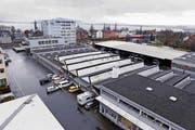 Erhalten die Zugerland Verkehrsbetriebe hier einen neuen Hauptstützpunkt? Der Kantonsrat gibt darauf in den nächsten Monaten eine Antwort. (Bild: Werner Schelbert / Neue ZZ)