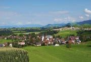 Blick auf die Zuger Gemeinde Neuheim. (Bild: PD)