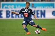 Oliver Bozanic, hier noch im Trikot des FC Luzern beim Spiel gegen den FC Zürich im Mai, spielt demnächst in Australien. (Bild: Philipp Schmidli / Neue LZ)