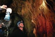 Die Silwängen-Höhle von Innen. (Archivbild: Nadia Schärli (23. Juli 2008))