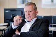 Der Zuger Finanzdirektor Heinz Tännler. (Bild: Stefan Kaiser)