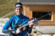 Ivan Joller (Biathlon, 33, Stans) (Bild: Gian Ehrenzeller / Keystone)