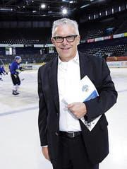 Hans-Peter Strebel, EVZ-Präsident und -Fan: «Die Finanzierung ist gesichert, auch wenn mir etwas zustiesse.» (Bild: pd)