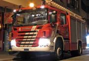 Ein Tanklöschfahrzeug der Freiwilligen Feuerwehr Zug. (Bild: Freiwillige Feuerwehr Zug)