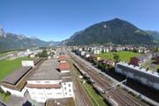 Im Gebiet Eyschachen und beim Bahnhof Altdorf sollen über 1000 Arbeitsplätze entstehen. (Archivbild Urs Hanhart)