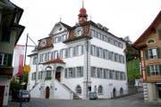 Das Rathaus in Sarnen ist Sitz des Obwaldner Regierungsrats. (Bild: Corinne Glanzmann)