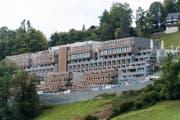 Blick auf das Waldhotel auf dem Bürgenstock. (Bild: Roger Grütter (Obbürgen, 19. September 2017))
