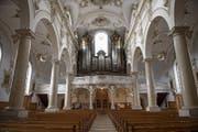 Blick in Richtung Orgel. (Bild: Corinne Glanzmann (16. Februar 2018))