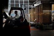 Die Wirtschaftsförderung will sich bereits ansässigen Betrieben widmen: Produktion von Ramseier in Hochdorf. (Bild: Nadia Schärli / Neue LZ)