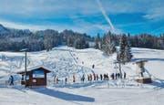 Der Skilift Schratten in Flühli. (Bild zvg)