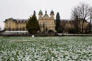 Blick auf das Gebäude der Kantonalen Gerichte (Kantonsgericht, Verwaltungsgericht und Strafgericht). (Bild: Sigi Tischler / Keystone)