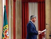 Der portugiesische Finanzminister Mario Centeno ist der neue Chef der Eurogruppe. (Bild: Jose Sena Goulao/EPA (Brüssel, 4. Dezember 2017))