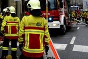Nach einem Glimmbrand an der Rebstockhalde in der Stadt Luzern musste ein Grossaufgebot der Feuerwehr ausrücken. (Symbolbild) (Bild: Nadia Schärli / LZ)