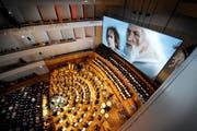 Viele umliegende Kantone zahlen für das Luzerner Kulturangebot. Im Bild ein Konzert im KKL. (Bild: Pius Amrein/Neue LZ)
