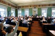 Der Zuger Kantonsrat hatte am Donnerstag Session. (Symbolbild Stefan Kaiser)