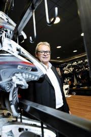 EVZ-Präsident Roland Staerkle macht bei sich auch nach acht Jahren noch keine Abnützungserscheinungen aus. (Bild Werner Schelbert)
