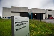 Das Gefängnis Grosshof in Kriens. (Bild: Roger Grütter)