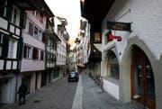 Wie die Ankenwaage in der Ober Altstadt künftig genutzt wird, ist unklar. (Bild: Stefan Kaiser / Neue ZZ)