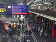 Verschiedene Störungen im Bahnverkehr in der Zentralschweiz am Donnerstagmorgen. (Bild: Stefanie Nopper / Luzernerzeitung.ch)