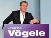 Markus Voegeli, Chef der Charles-Voegele-Gruppe, tritt per Ende November von seinem Amt zurück. (Archivbild) (Bild: KEYSTONE/WALTER BIERI)