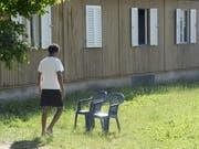Ein Asylbewerber auf dem Zürcher Juch-Areal. (Bild: Archiv Keystone)