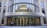 In diesem Gebäude in New York findet der Fifa-Prozess statt. (Bild: Andrew Gombert / EPA (New York, 16. Juli 2015))