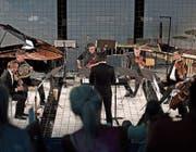 Das Ensemble Montaigne spielte im Neubad Luzern mit Energie und erfrischender Leichtigkeit zugleich. (Bild: Corinne Glanzmann (17. Juni 2017))