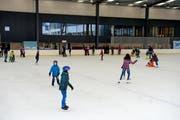 Heute bietet in der Nähe davon das Regionale Eiszentrum Gelegenheit dazu. (Bild: Nadia Schärli / Neue LZ)