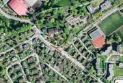 Der Spielplatz bei der Kirche St. Anton wird saniert. (Bild: maps.search.ch)