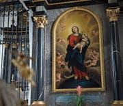 «Maria vom Siege» – das Gemälde in der Liebfrauenkapelle stammt wohl von Johann Kaspar Muos.