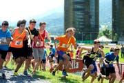 Der diesjährige nationale Schulsporttag fand in Luzern statt. Rund 3000 Schüler waren dabei. (Bild: Nadia Schärli / Neue LZ)
