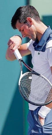 Muss in Miami eine weitere Enttäuschung hinnehmen: der Serbe Novak Djokovic. (Bild: Erik S. Lesser/EPA (23. März 2018))