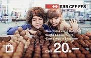19 Geschenkkarte SBB-Reisemagazin