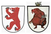 Das Wappen der Gemeinde Cham. (Bild: pd)