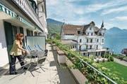 Das Park Hotel Weggis bietet viel Potenzial im Wellness-Bereich. (Bild: Dominik Wunderli (5. Mai 2014))