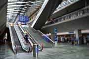 Fünf neue Ladenflächen kommen ins Untergeschoss des Luzerner Bahnhofs. (Archivbild / Neue LZ)