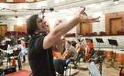 Elektrisierende Mozart-Oper: Teodor Currentzis bei den Aufnahmen im russischen Perm. (Bild: PD/SME/Aleksey Gushchin)