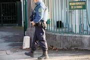 Anti-Terror-Ermittler waren in der Schweiz und in Frankreich im Einsatz. (Symbolbild: Salvatore Di Nolfi/Keystone)