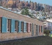 Im Asylzentrum Grosshof in Kriens sind rund 90 jugendliche Asylsuchende untergebracht. (Bild: Nadia Schärli (24. November 2017))