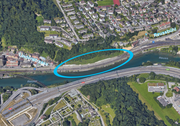 Die Kantonsstrasse zwischen Luzern und Reussbühl soll verbreitert werden. (Bild: Google Maps/bac)