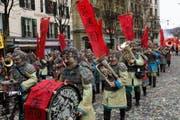 Auf den 3. Platz setzte die Jury die Rotsee Husaren mit ihrer «Terrakotta Armee». (Bild: pd)