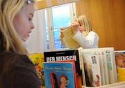 Szene aus dem Kindergarten Ennetbürgen. (Bild Corinne Glanzmann/Neue NZ)