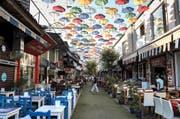 In den Strassencafés und Restaurants in Antalya im Süden der Türkei herrscht diesen Sommer gähnende Leere. (Bild: Sputnik/Valeriy Melnikov)