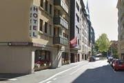 Das Hotel Weinhof an der Weystrasse in Luzern. (Bild: map.google.ch/Screenshot luzernerzeitung.ch)
