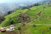 Die Region Hintergraben ob Sarnen ist als Hangrutschgebiet bekannt. (Bild: PD)