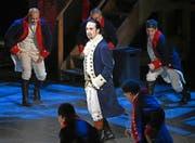 Lin-Manuel Miranda ist Komponist, Librettist und Hauptdarsteller von «Hamilton» in Personalunion. (Bild: Keystone)