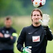 Der ehemalige FC-Aarau-Torhüter Swen König wird neuer FCL-Goalietrainer. (Bild: Sigi Tischler/Keystone (4. Juni 2014))